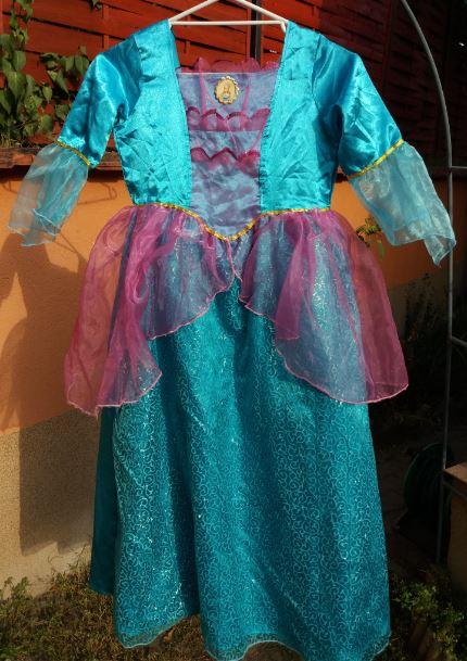 Barbie hercegnős ruha (8-10)