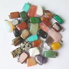 színes ásvány medálok - változatos formák