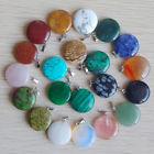 színes ásvány medálok-kör