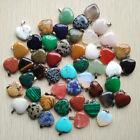 Színes ásvány medálok-szív