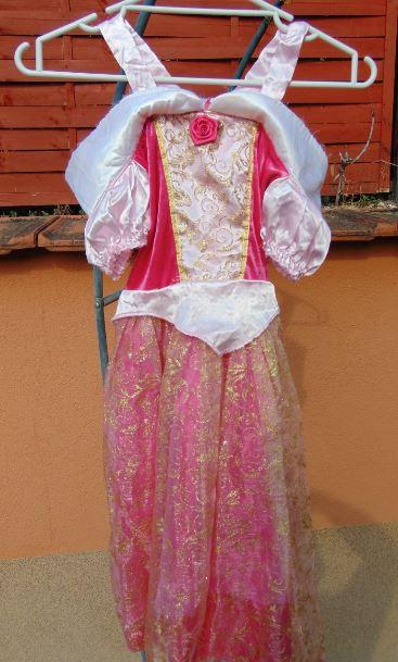 Hercegnős ruha rózsával (4-6)